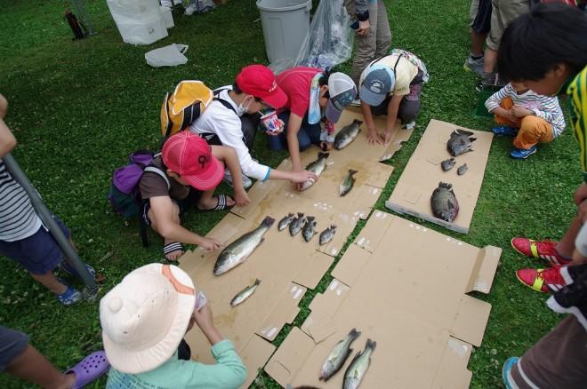 ブラックバス釣り大会が開催されました