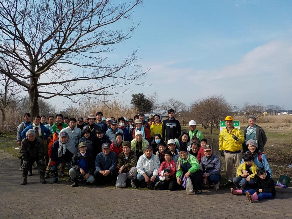 「みんなで江津湖の外来水草を退治しよう!」