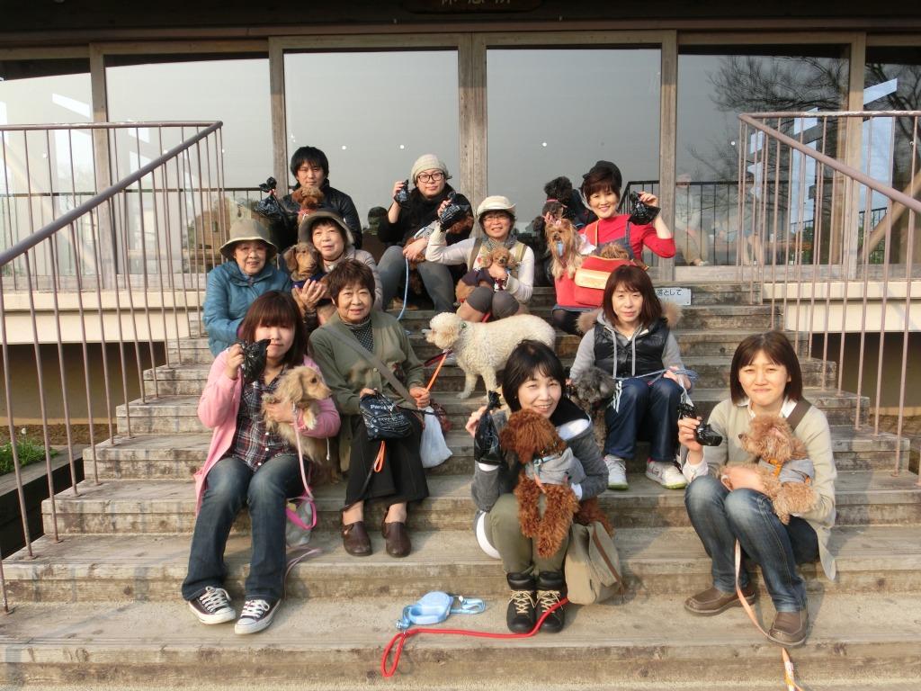 4月の江津湖ワンワン見守り隊(愛称:えづワン隊)
