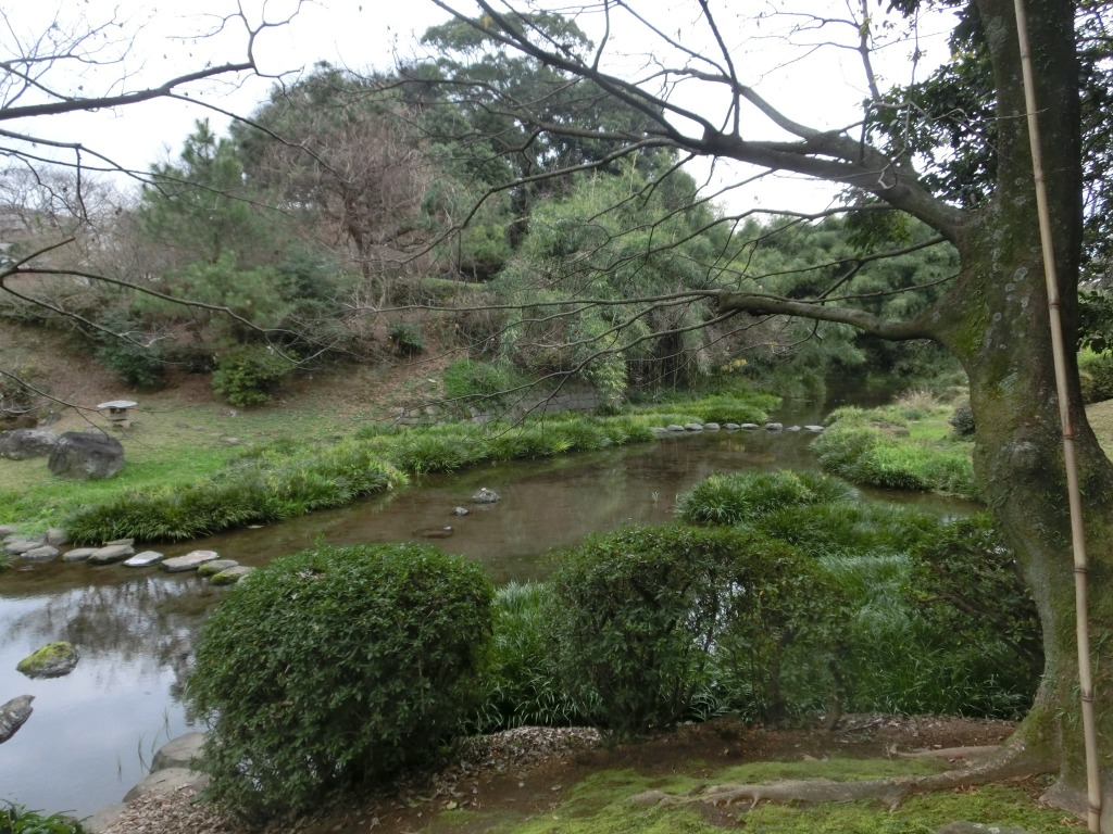 日本庭園清掃