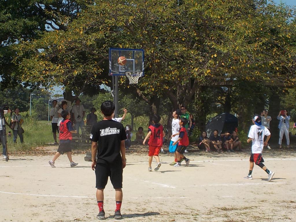160821第1回江津湖カップ 3×3バスケットボール